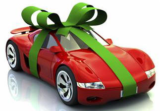 automobiles,bows,gifts,iStockphoto,presents,red sports cars,ribbons,special occasions,surprises,transportation,vehicles
